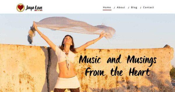 Jaya Love Website