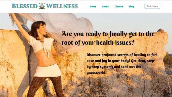 Blessed Wellness Website
